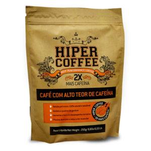 HiperCoffee - Café Pré-Treino | 20 pacotes 250g
